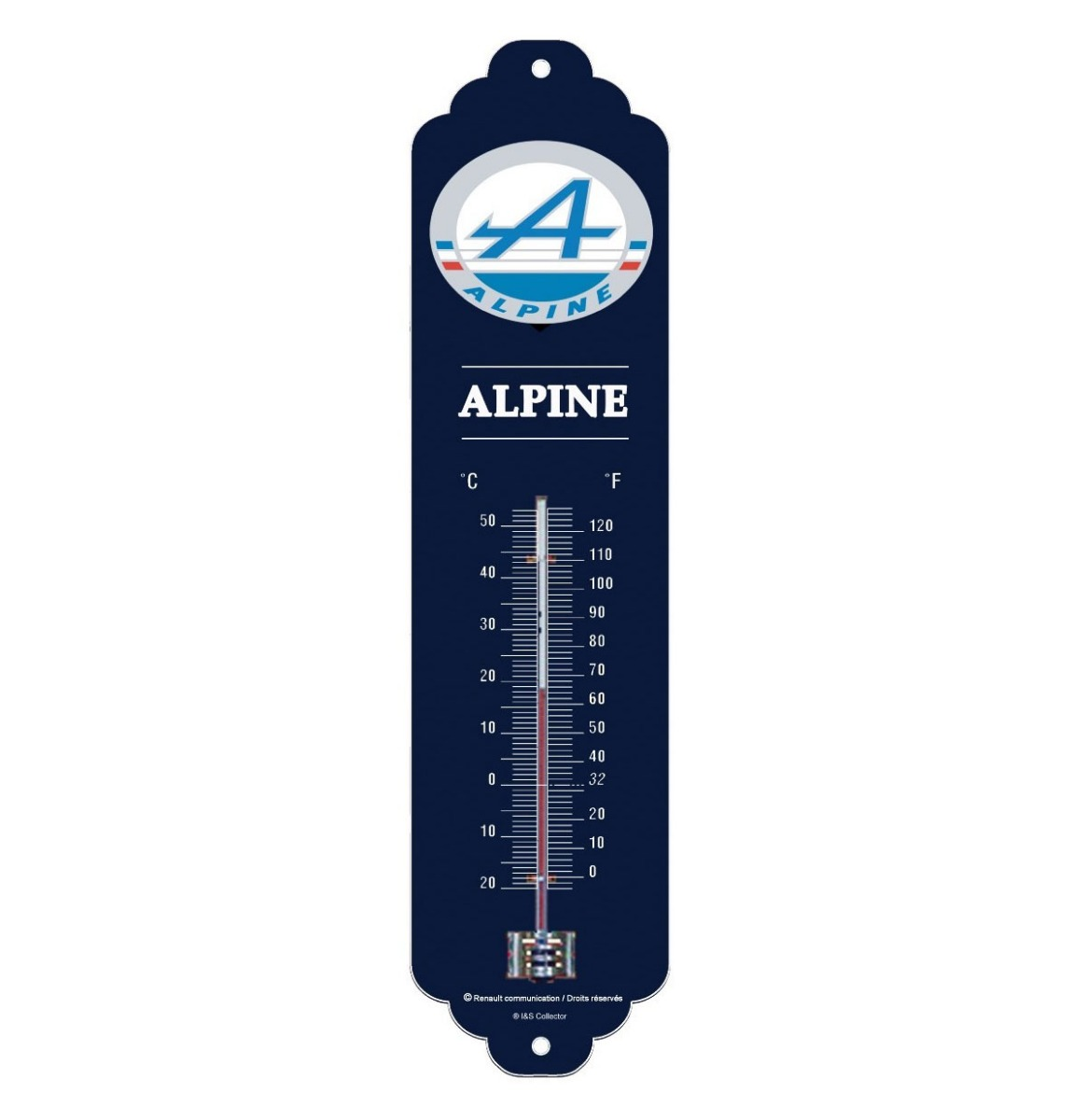 Alpine Logo Thermometer