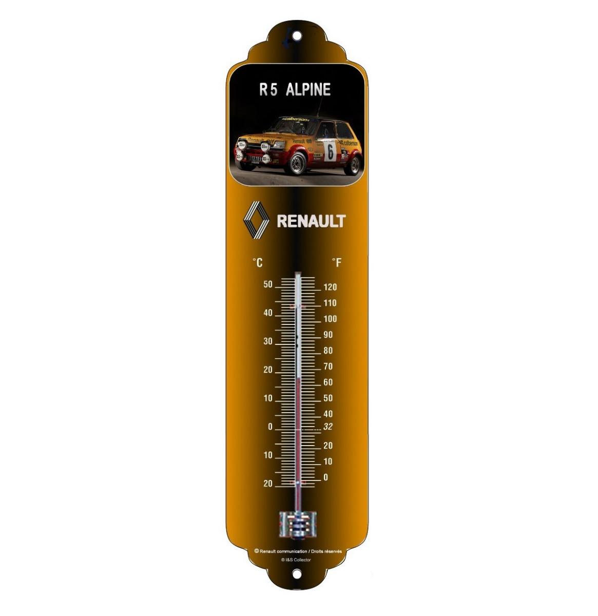Renault R5 Alpine Thermometer