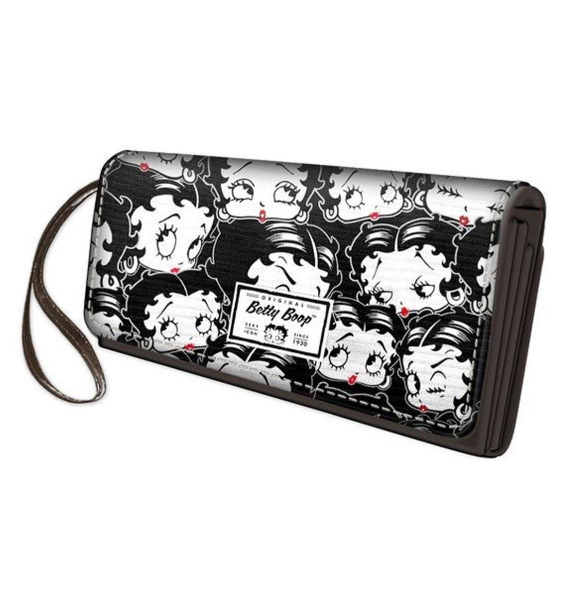 Betty Boop Portemonnee Noir L