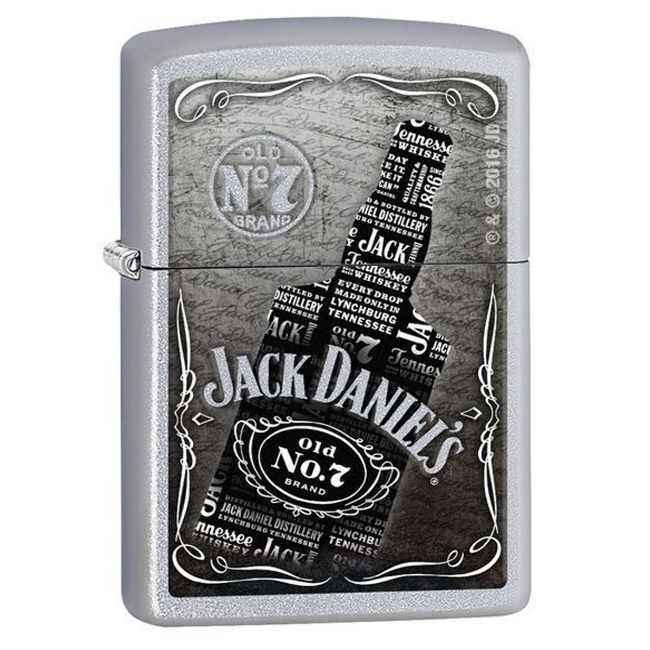 Zippo Lighter - Jack Daniel's N7 Bottle