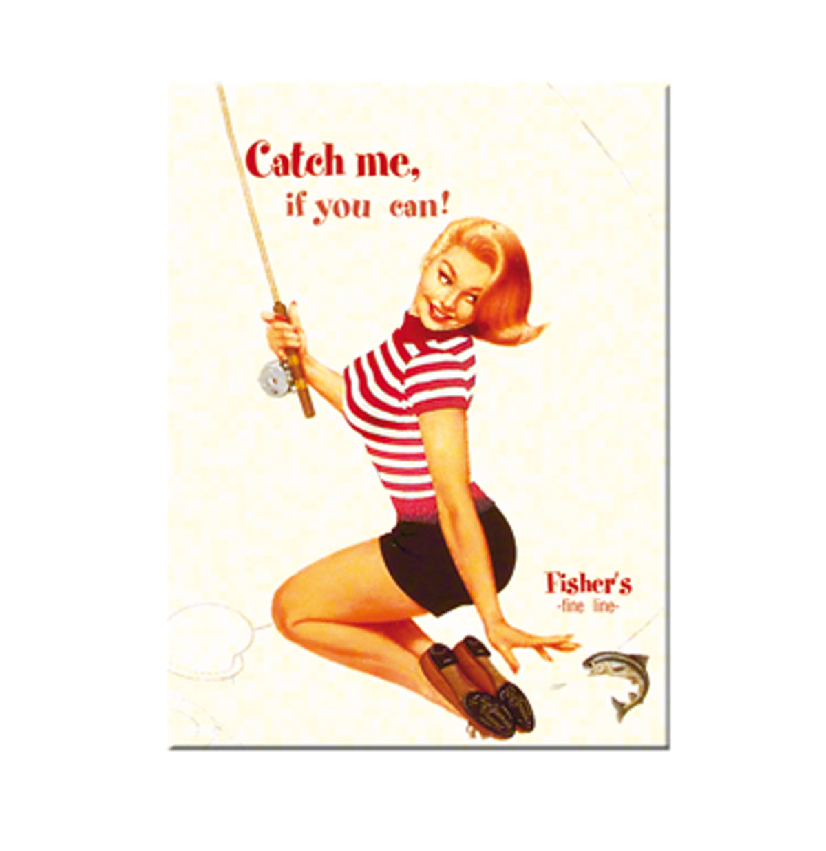 Catch Me If You Can pin-up Magneet