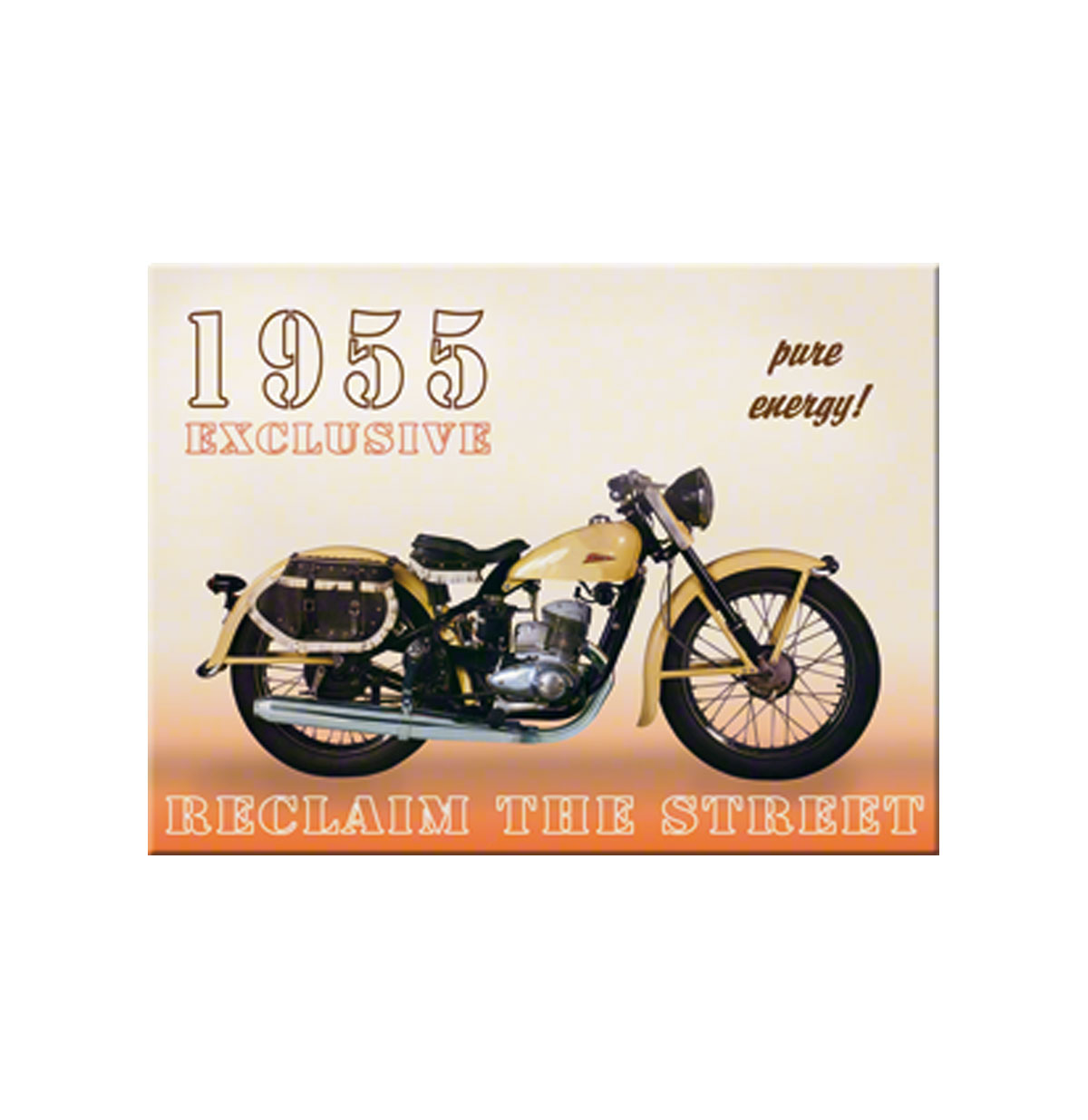 1955 Exclusive Motorcycle Magneet