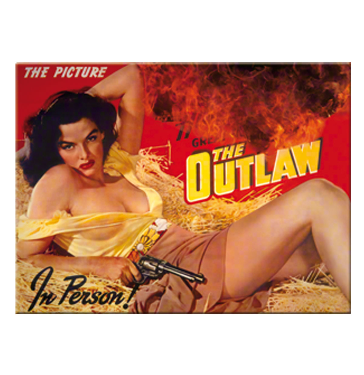 The Outlaw Jane Russell Magneet