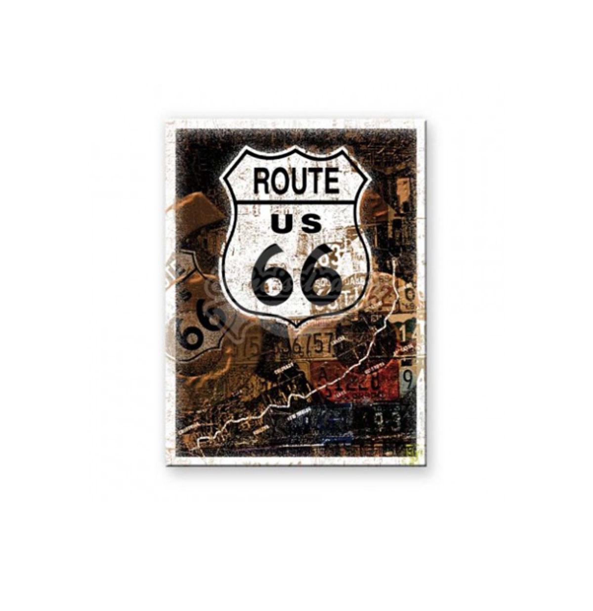 Route 66 Retro Magneet