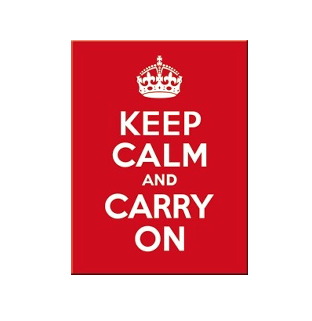 Keep Calm and Carry On Magneet