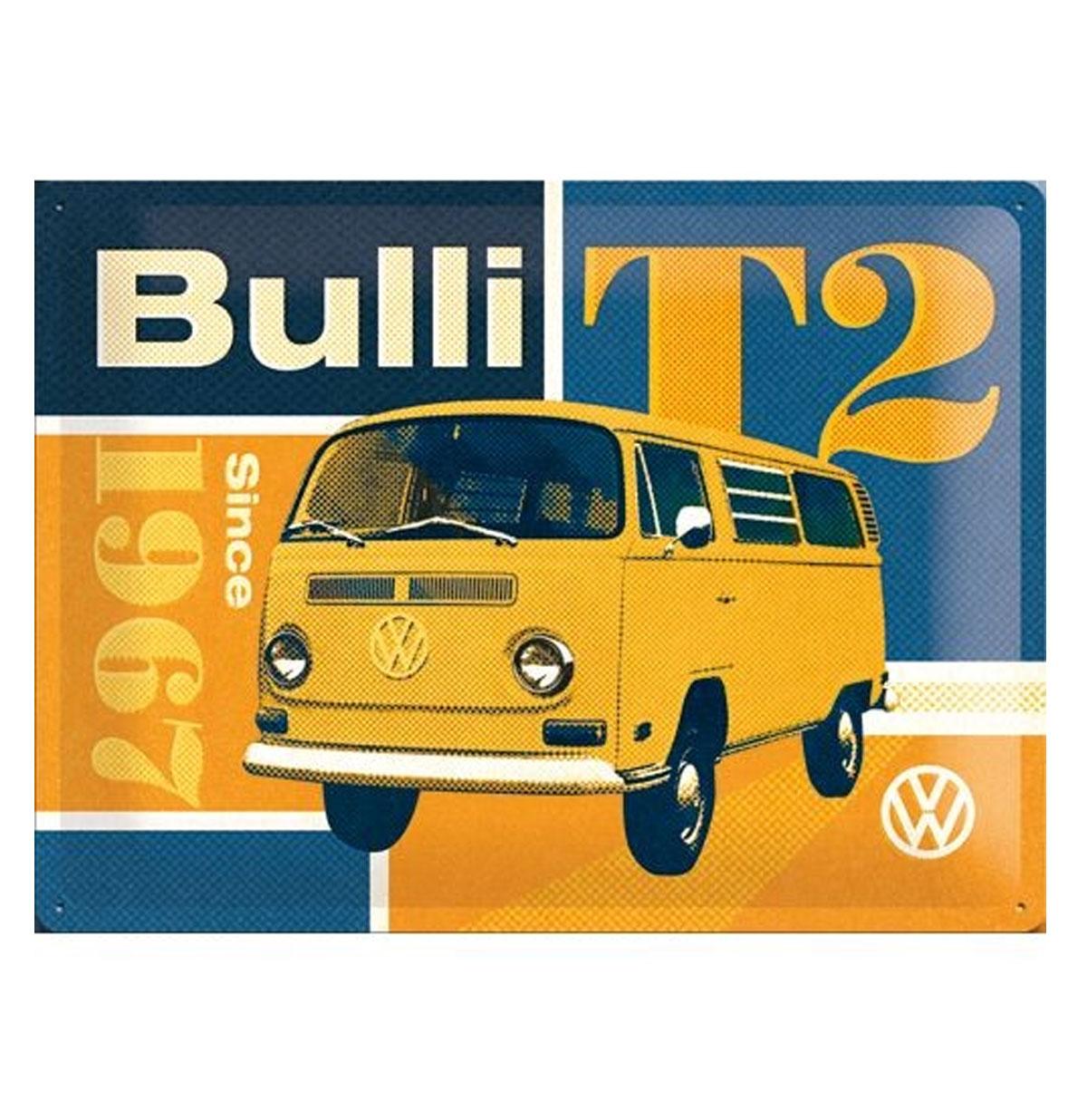 Volkswagen Bulli T2 Tinnen Bord