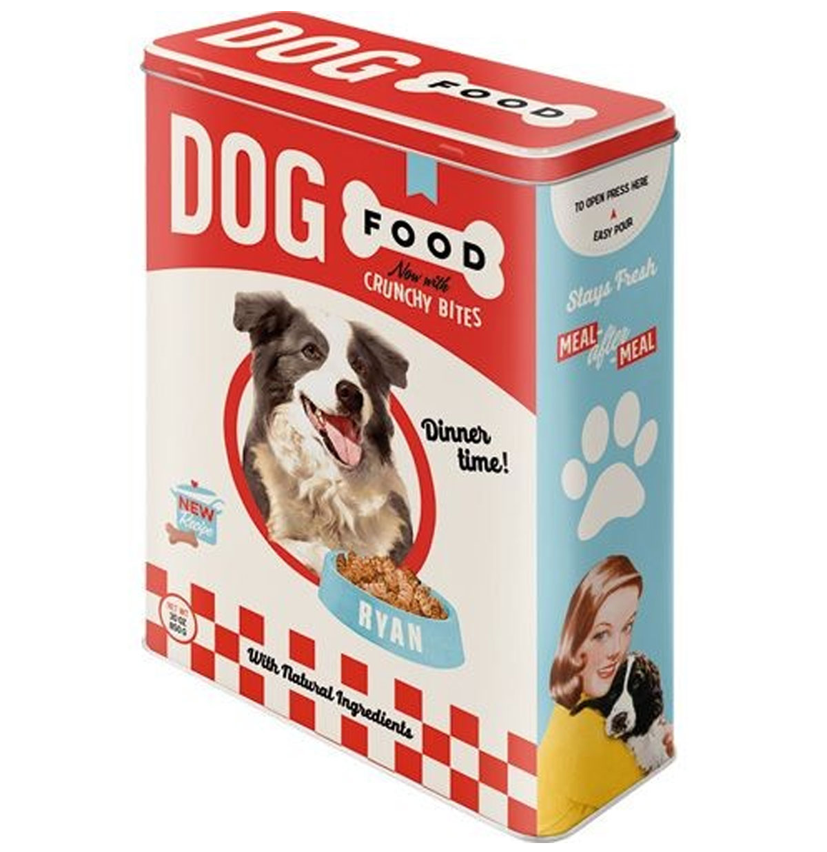 Dog Food Tinnen Blik XL