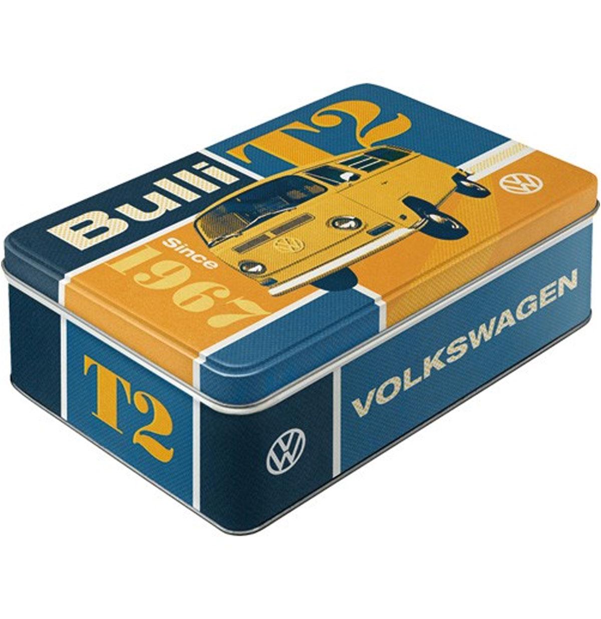 Volkswagen Bulli T2 Plat Tinnen Blik