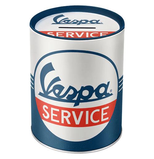 Blikken Spaarpot Vespa Service