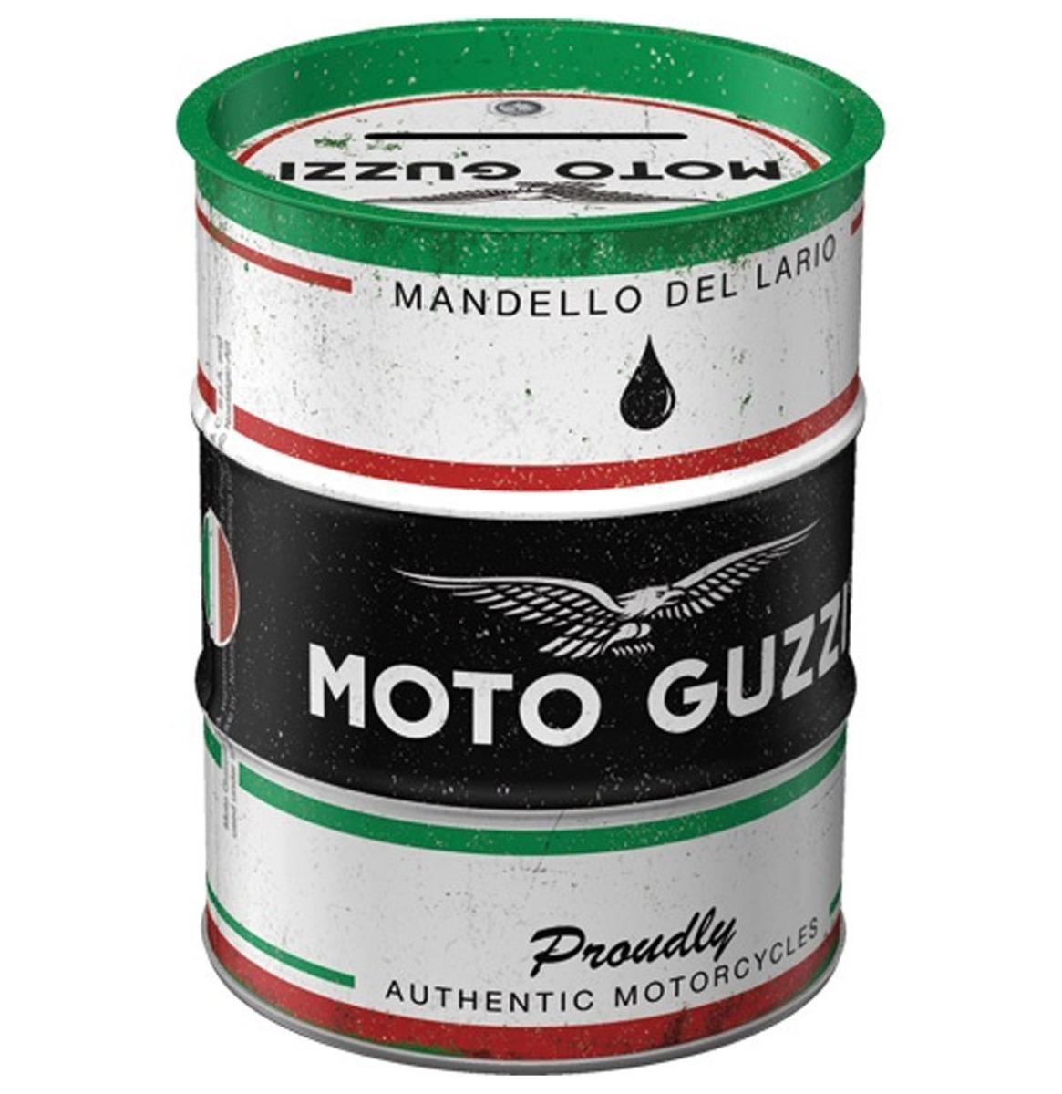 Moto Guzzi - Italian Motorcycle Olieblik Spaarpot