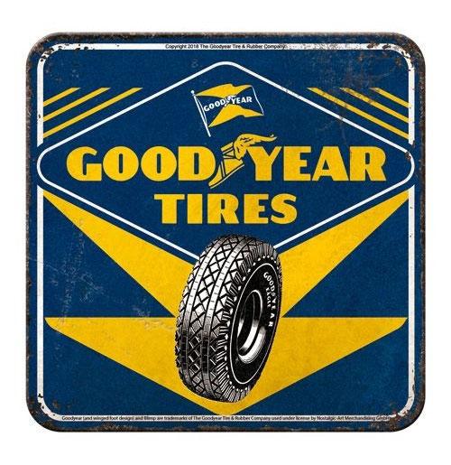 Onderzetters Goodyear Tires Set van 5