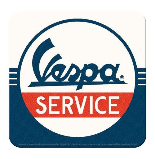 Onderzetters Vespa Service Set van 5