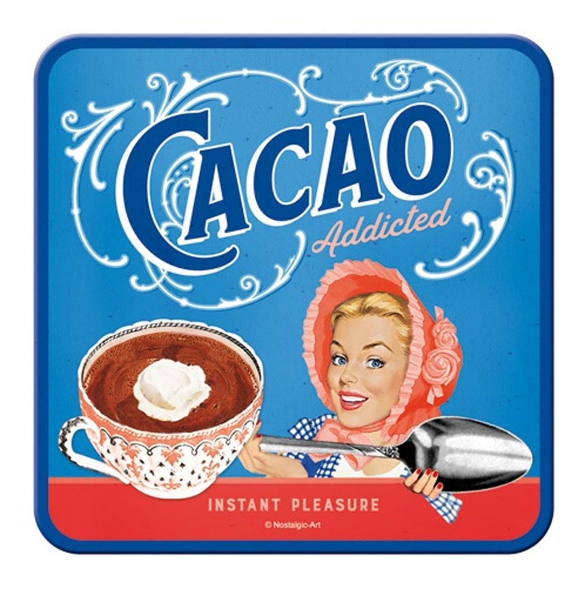 Cacao Addicted Onderzetters - Set Van 5