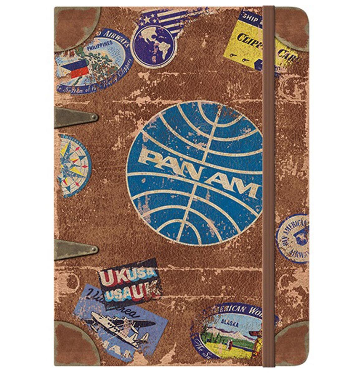 Notitieboek Pan Am - Travel Stickers