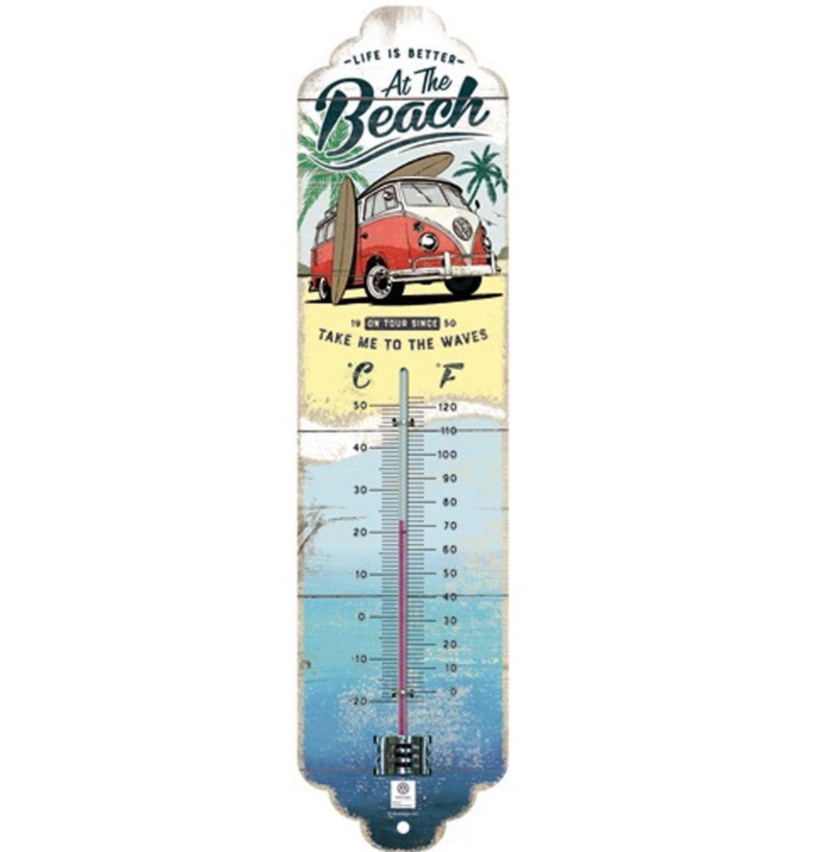 Volkswagen Bulli Beach Thermometer