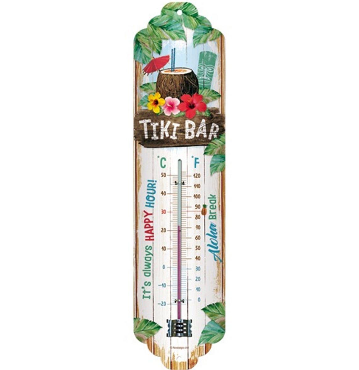 Tiki Bar Thermometer