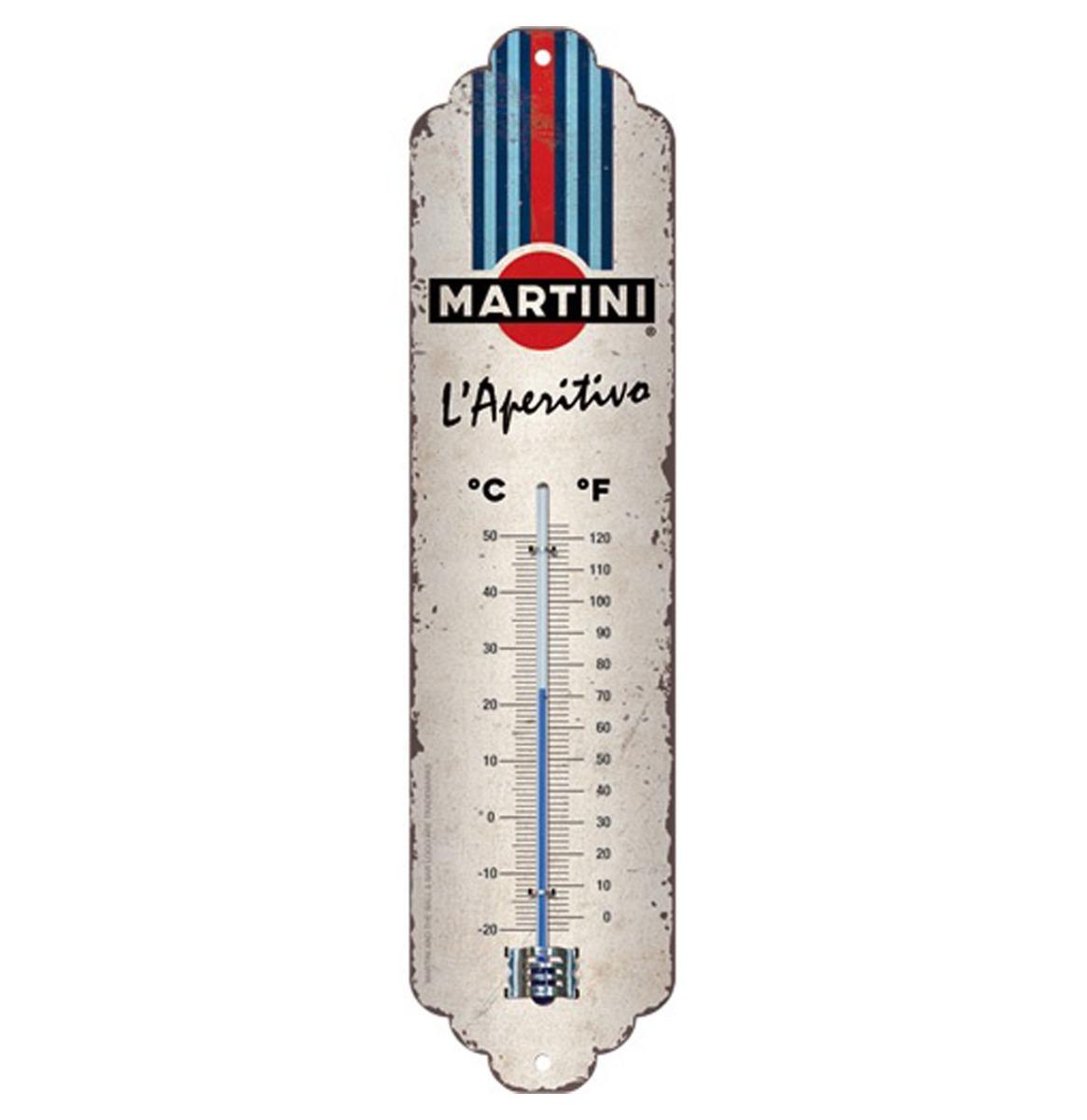 Thermometer 'Martini - L'Aperitivo Racing Stripes'