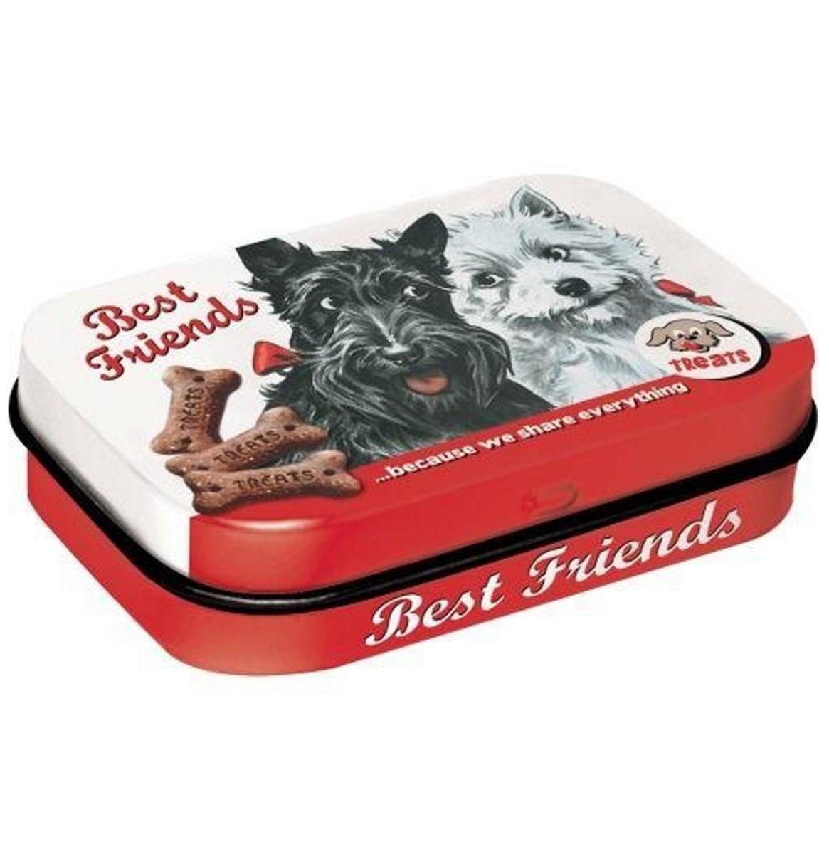 Dog & Cat Best Friends Pepermunt Doosje Inclusief Mints