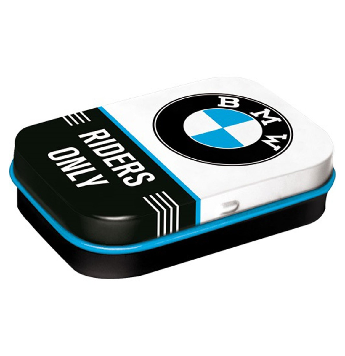 Pepermunt Blikje 'BMW - Riders Only'
