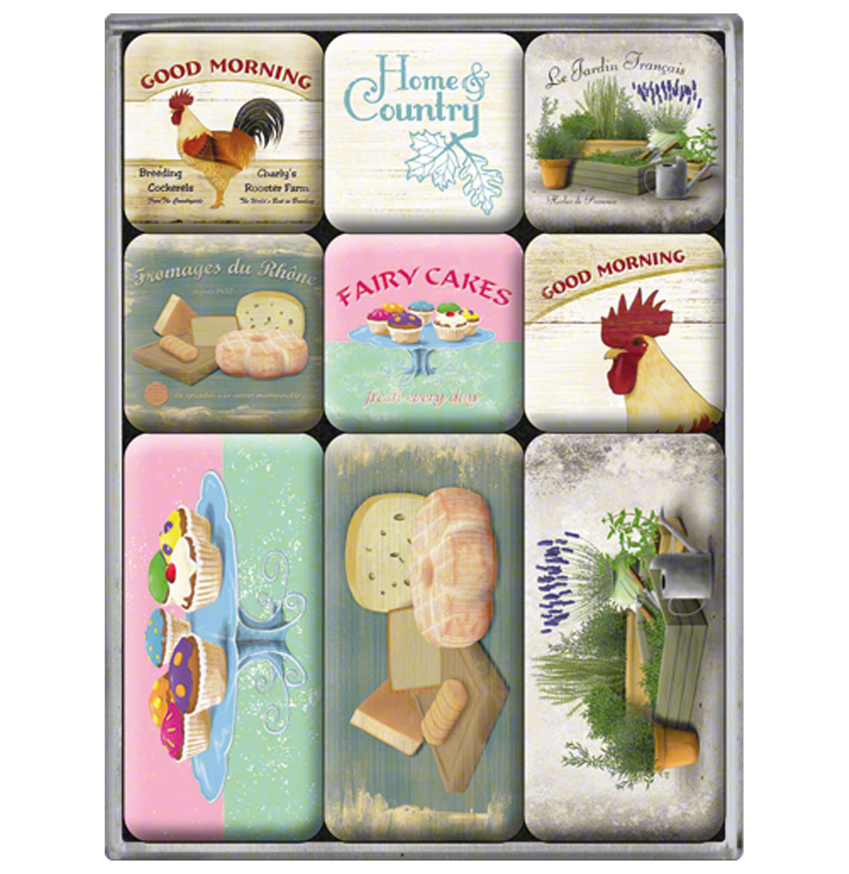 Home and Country Magneet Set