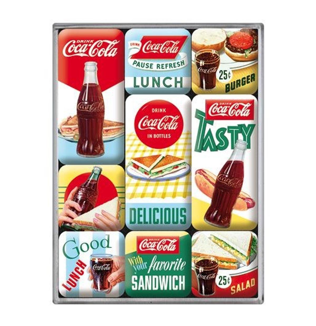 Coca-Cola Delicious Magnet Set