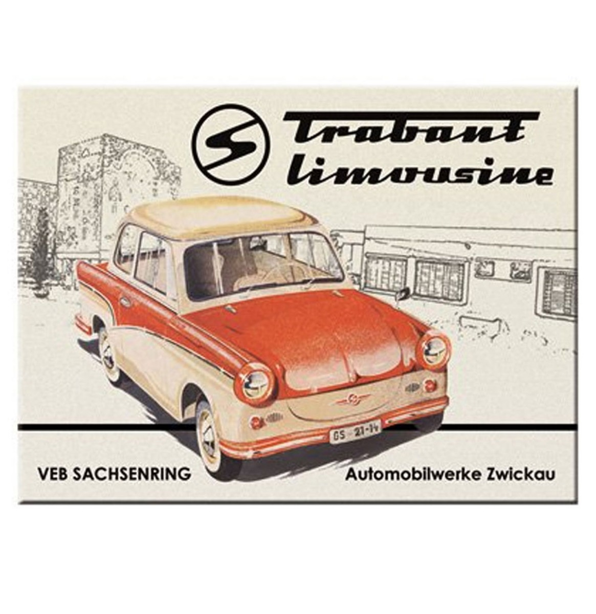 Trabant Limousine Magneet