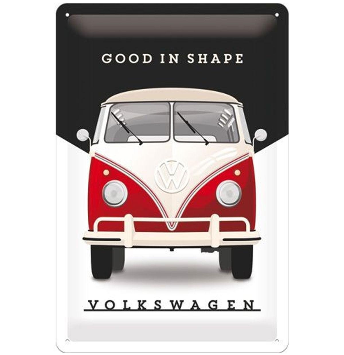 Volkswagen Good Shape Metalen Bord 20 x 30 cm