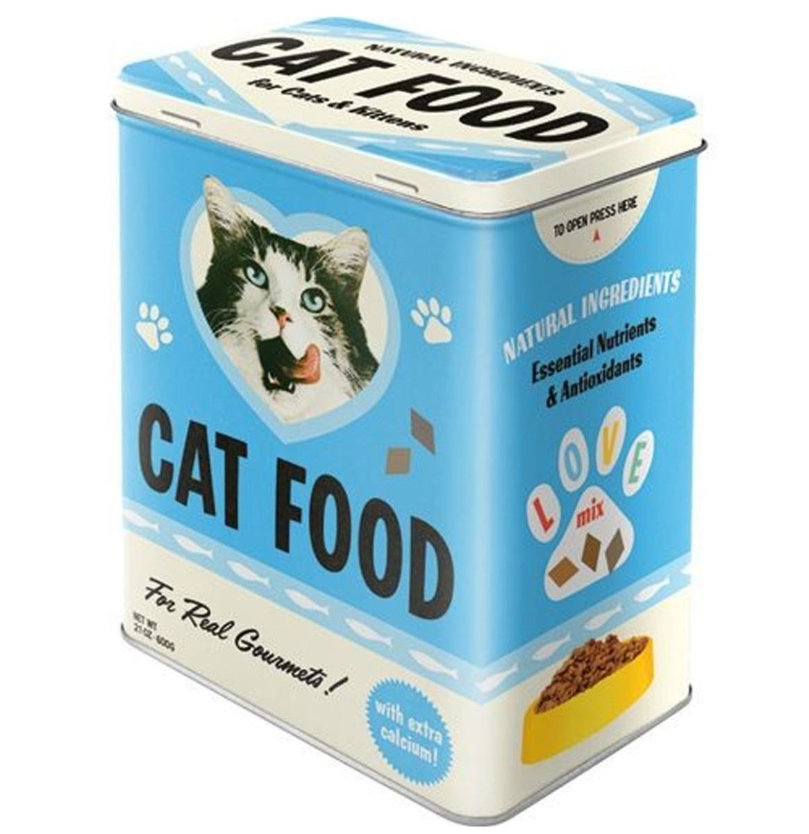 Cat Food Tinnen Blik