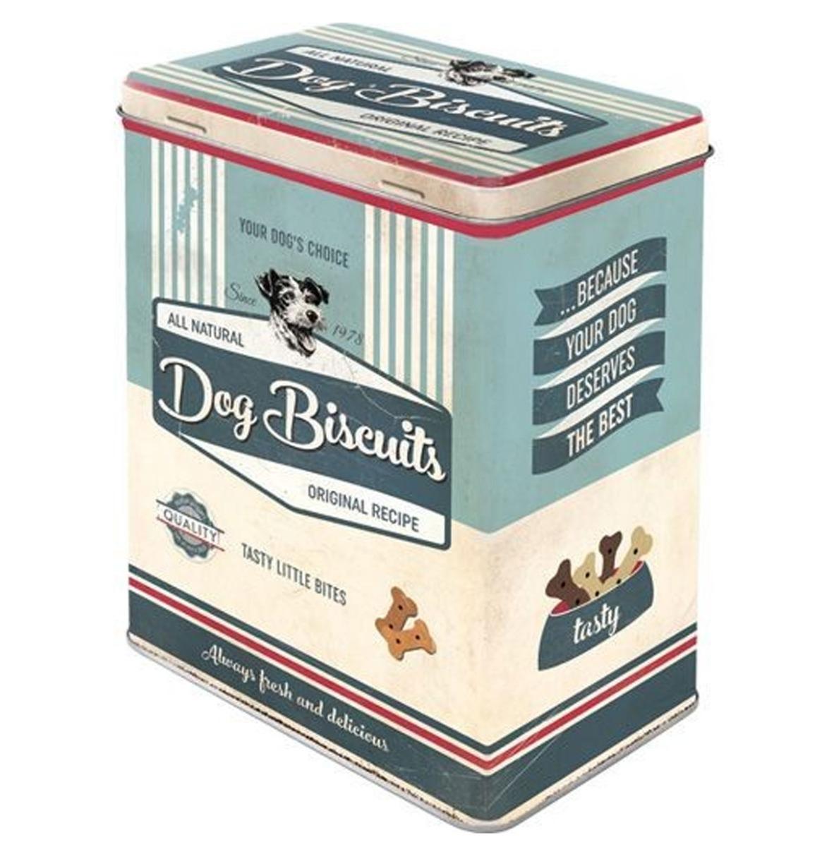 Dog Bisquits Tinnen Blik