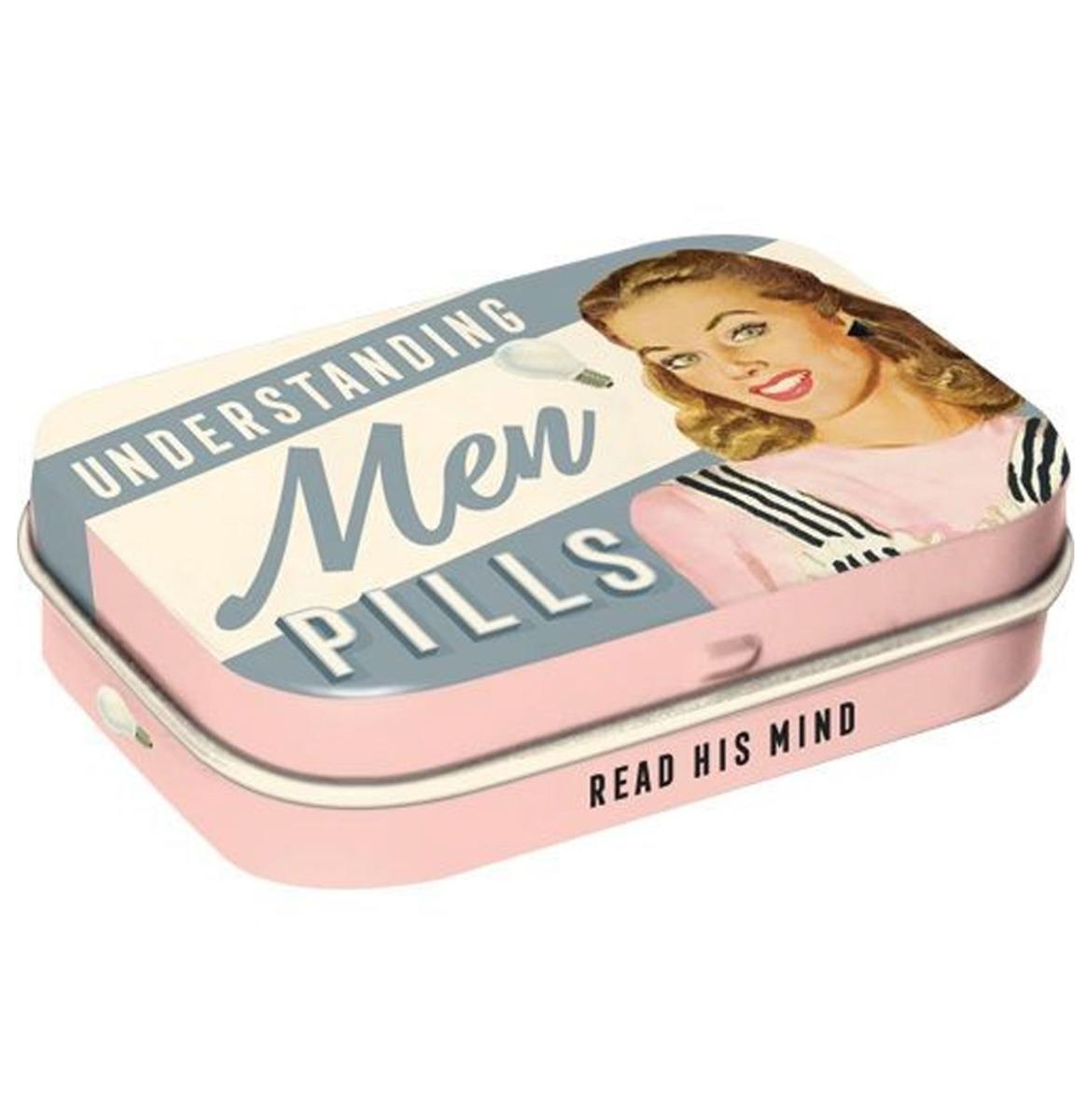Understanding Men Pills 2 Pepermunt Blik