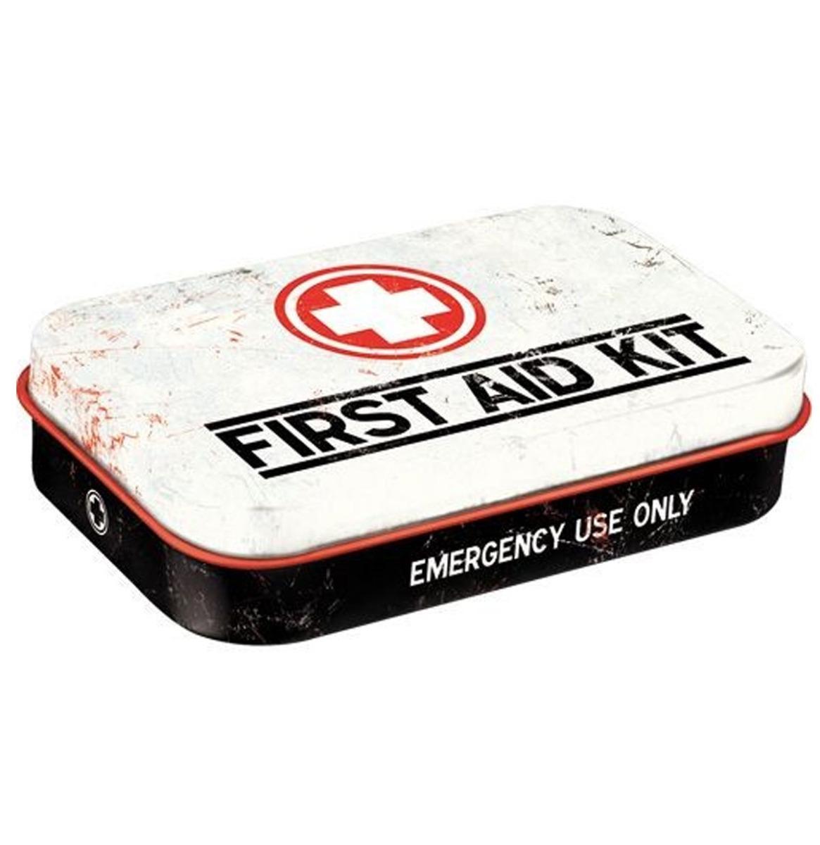 First Aid Kit Pepermunt Blik XL