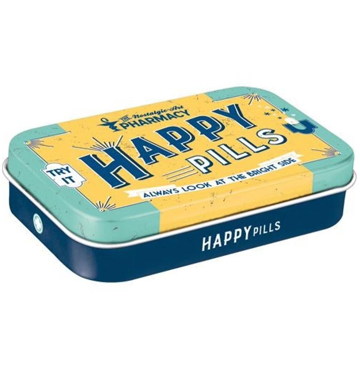 Happy Pills Pepermunt Blik XL