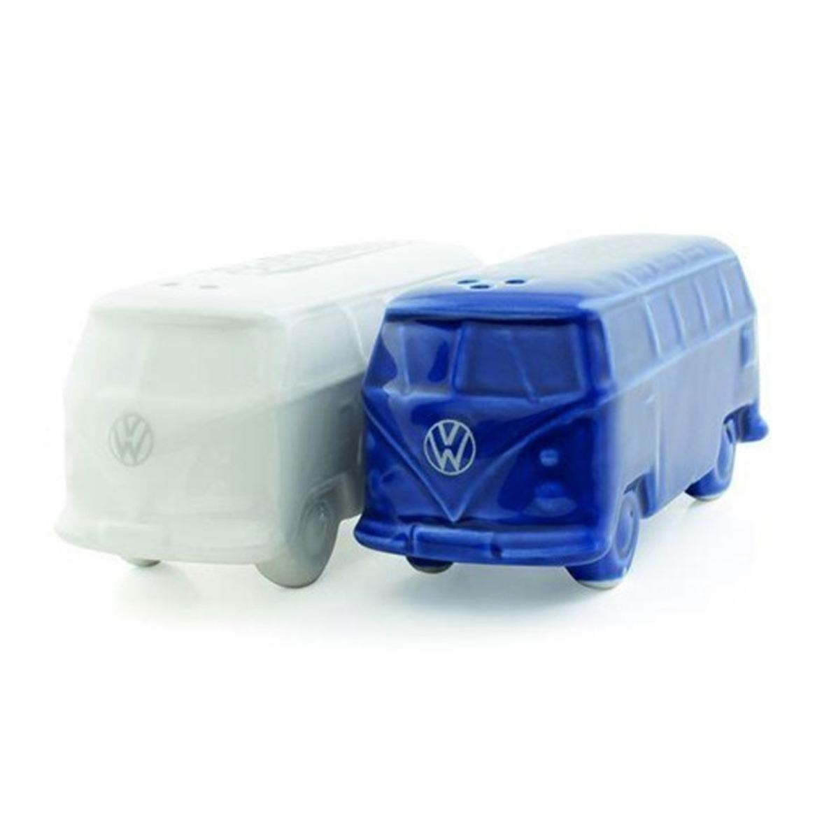 Volkswagen Zout&Peper Stelletje - Blauw/Wit