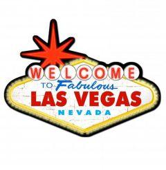Welcome to Las Vegas Pin-Up Metal Sign