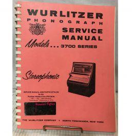Wurlitzer 1600 Jukebox manual