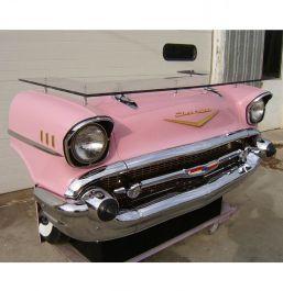 1957 Chevrolet Bel Air Bar Pink Made From A Real Car Fiftiesstore Com
