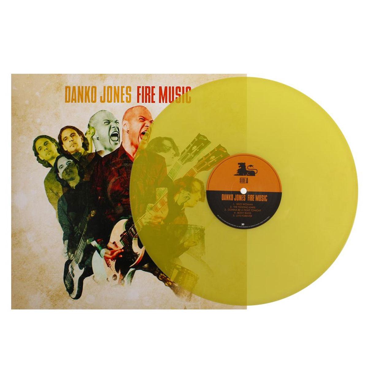 Danko Jones - Fire Music LTD Yellow Vinyl LP