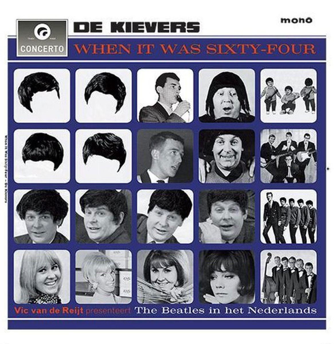 De Kievers - When It Was Sixty-Four LP - Gelimiteerde Oplage