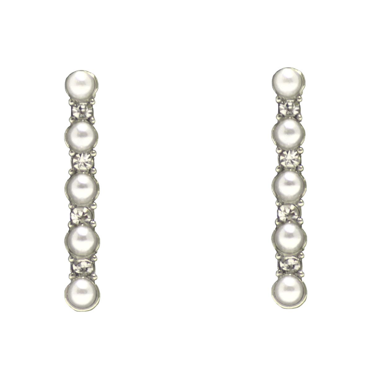Delicate Pearl Drop Earrings