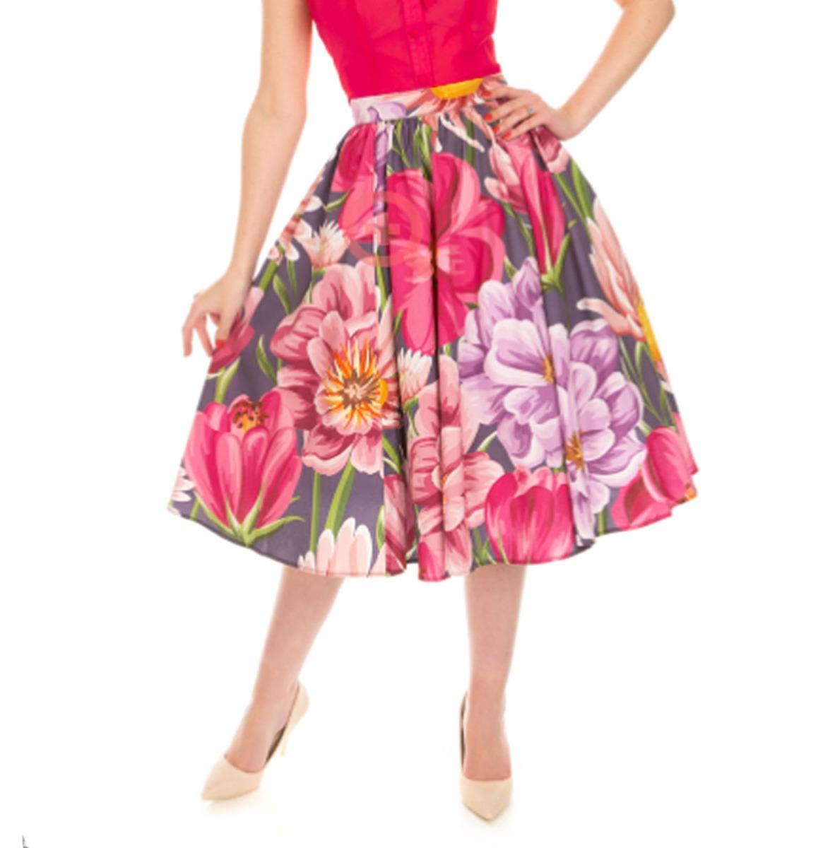 Hearts & Roses Rok Denise Floral