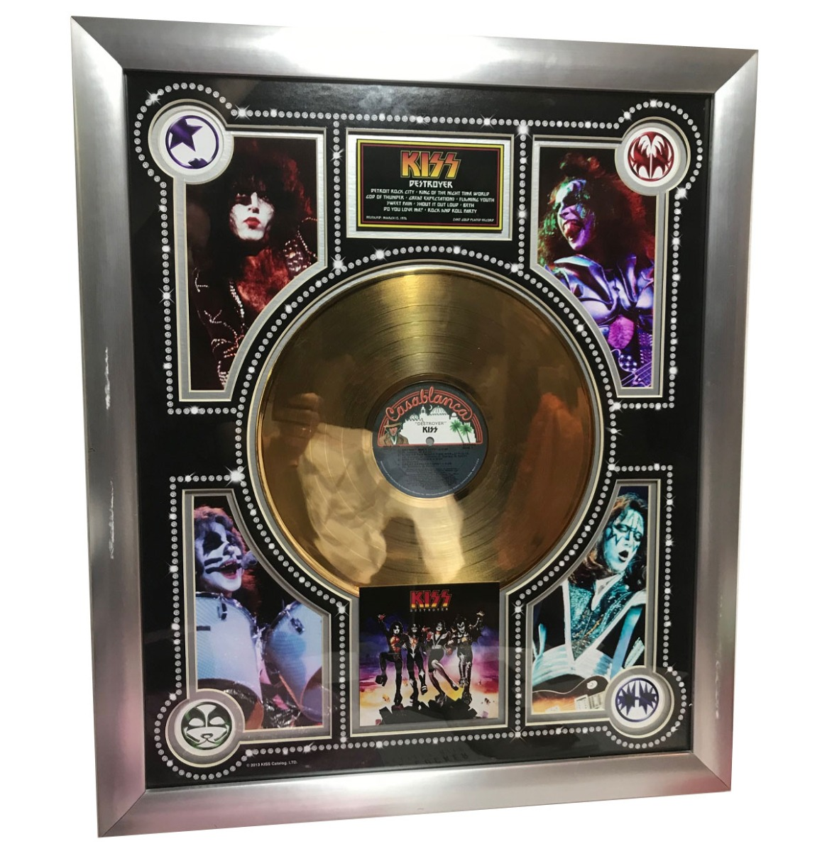 Kiss - Destroyer Gouden Plaat Official Kiss Catalogue