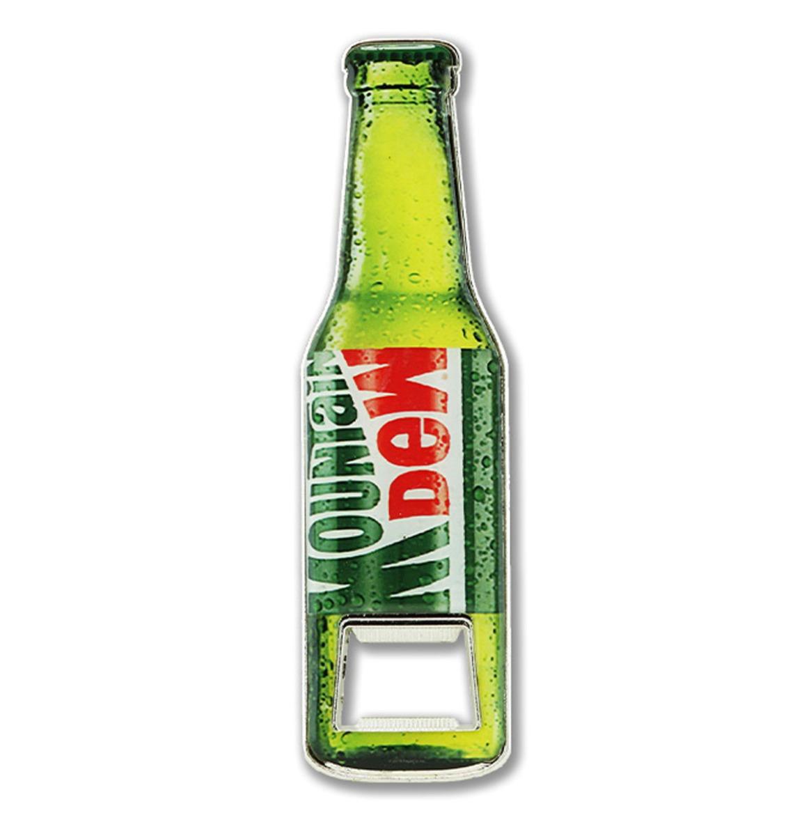 Mountain Dew - Bottle Opener - Ongeveer 12 x 3,5 cm