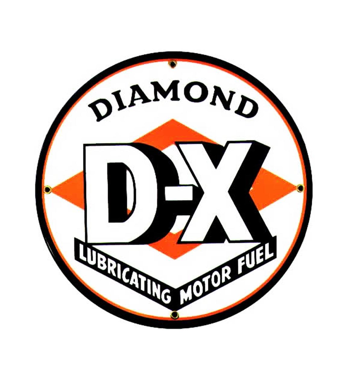 Diamond D-X Emaille Logo Bord 12-30 cm