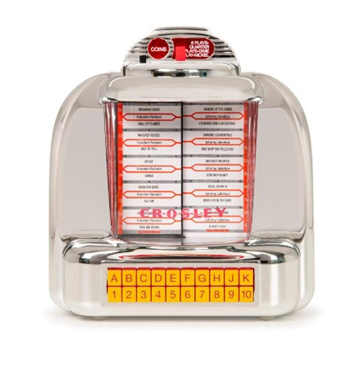 Crosley Corsair Diner Jukebox Tafelmodel Radio - Zilver