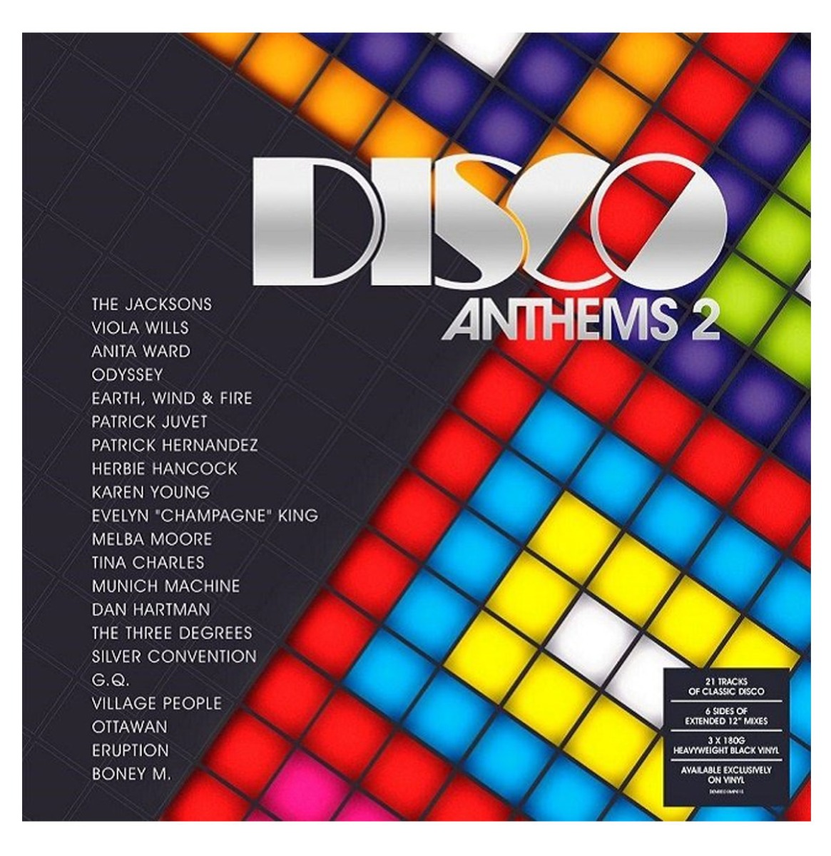 Various Artists - Disco Anthems 2 - 21 Tracks of Classic Disco - 3LP