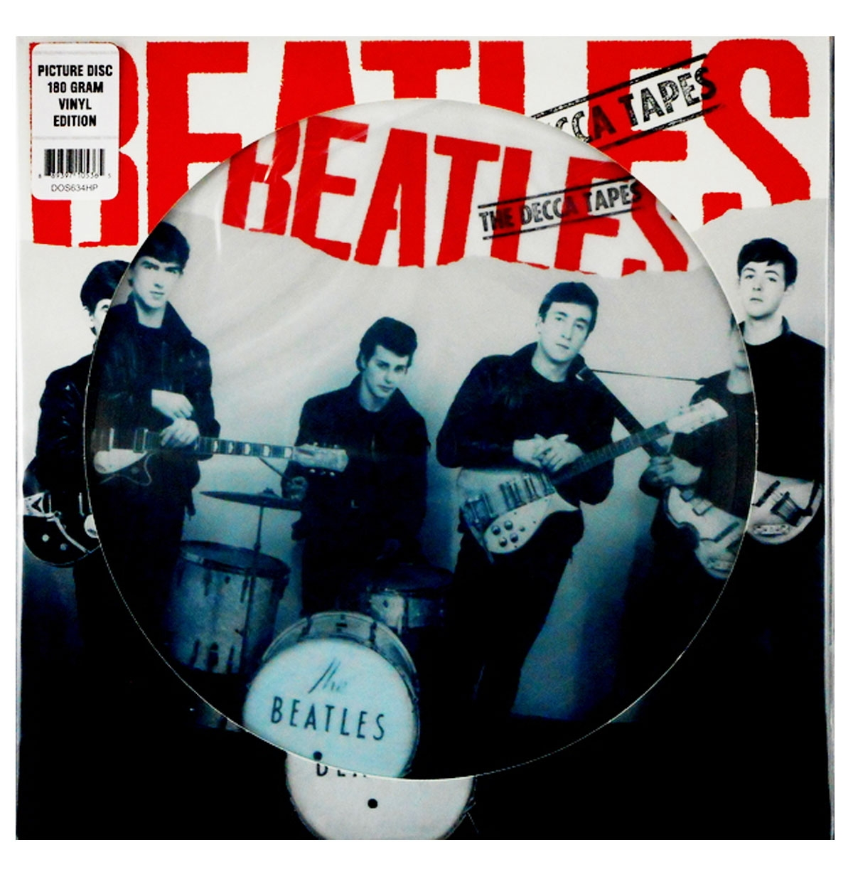 The Beatles - The Decca Tapes LP - Gelimiteerde Oplage Picture Disc
