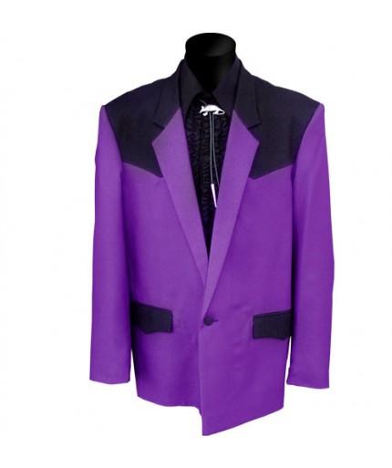 Dude Jacket, Paars - Zwart