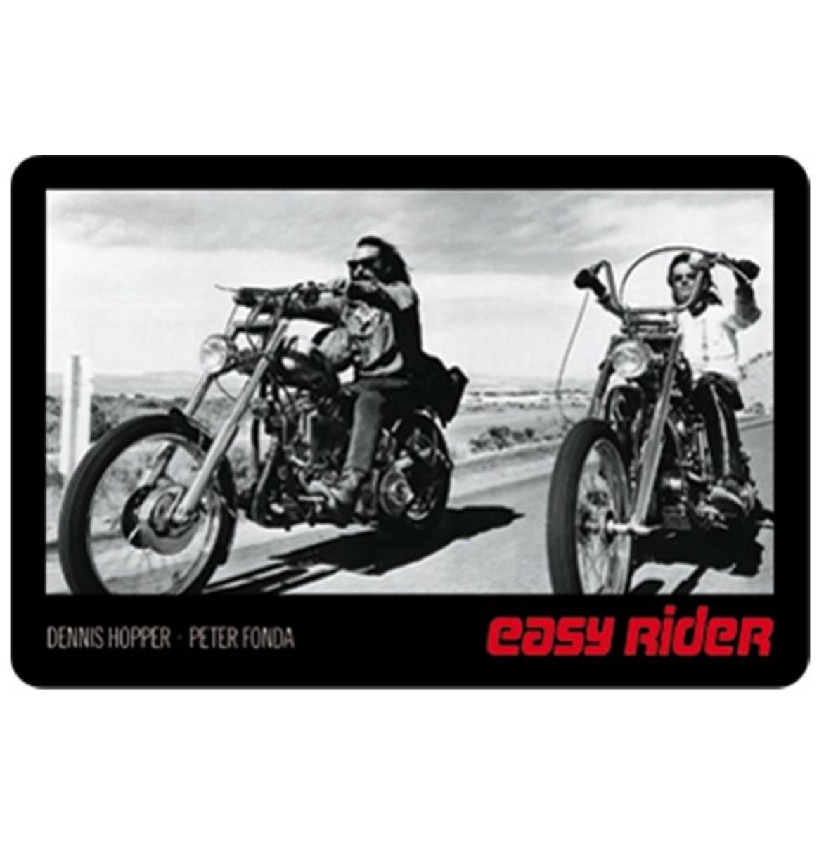 Easy Rider Metalen Bord - 8 x 11 cm