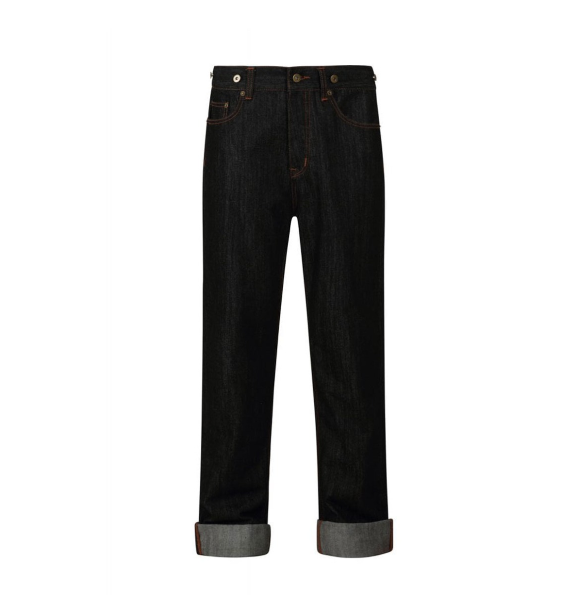 Collectif Eddie Jeans 40s Charcoal