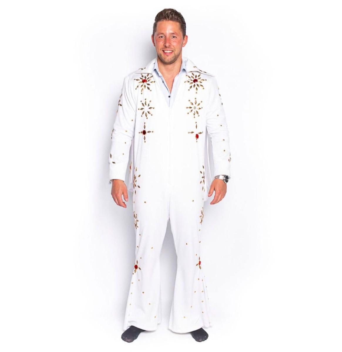 Elvis Jumpsuit Wit